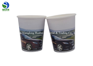 Eco - Friendly Biodegradable Paper Cups Flexo Printing Color Changing Style